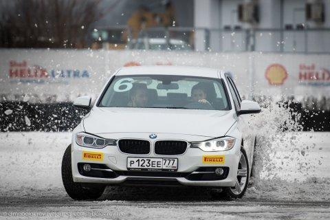 Азы дрифта в школе BMW Driving