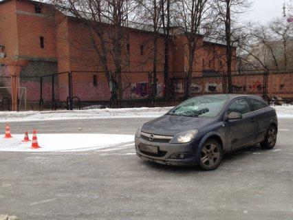 По льду проще ездить