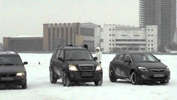 Экстремальное вождение Зимний