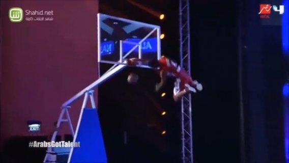 Летающие арабы на шоу талантов