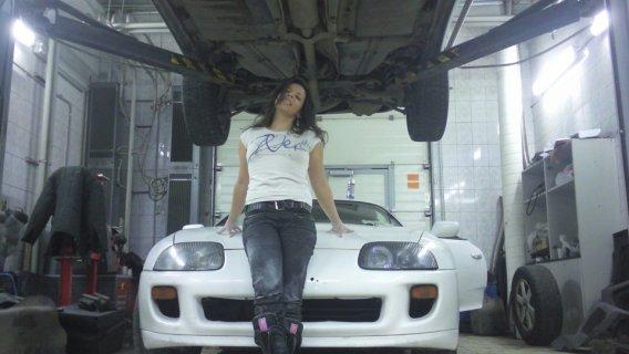 Toyota Supra 1995 — отзыв